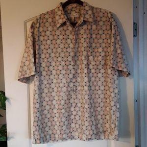 Tori RichardMen's Vintage Aloha/Hawaiian Shirt LG